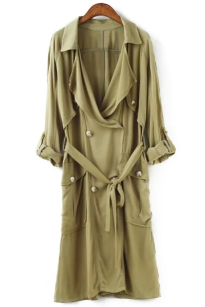 Slouchy Belted Trench Coat. Shop this look on www.showmethemuhnie.com