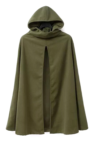 Army Hooded Trench Cape. Shop this look on www.showmethemuhnie.com